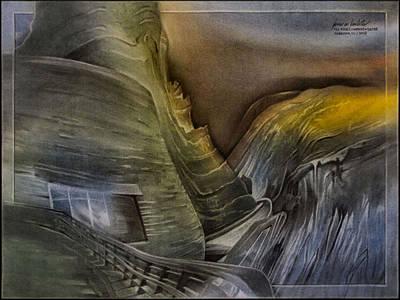 Pastel - Redrocksamphiscape 2010 by Glenn Bautista
