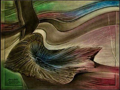 Pastel - Redrockspalmfrondcomp 2010 by Glenn Bautista