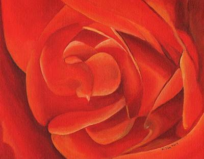 Painting - Redrose14-1 by William Killen