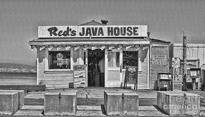 Photograph - Red's Java House San Francisco By Diana Sainz by Diana Raquel Sainz