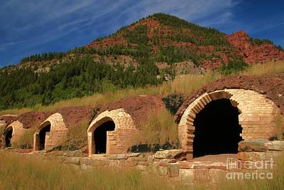 Photograph - Redstone Coke Ovens by Adam Jewell