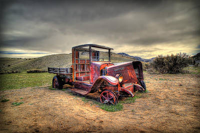 Bannack Ghost Town Photograph - Redtired by Ryan Smith