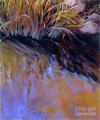 Painting - Reeds- No. 2 by Betsee  Talavera