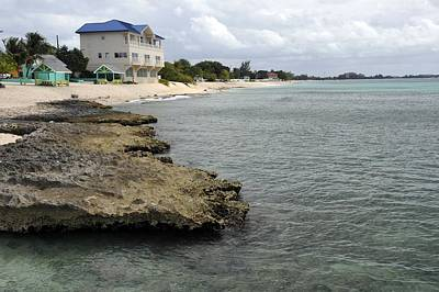 Photograph - Reef And Beach House In Cayman Islands by Willie Harper