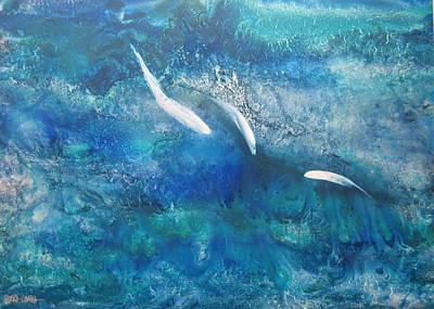 Wall Art - Painting - Reef by Debra LePage