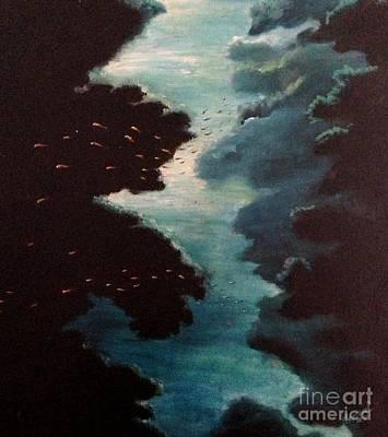 Reef Pohnpei Art Print by Karen  Ferrand Carroll