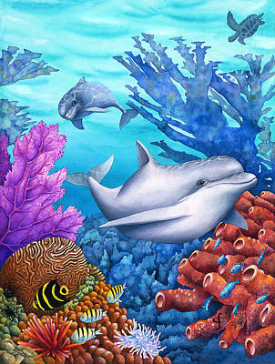 Carolyn Steele Photograph - Reef Racers by Carolyn Steele