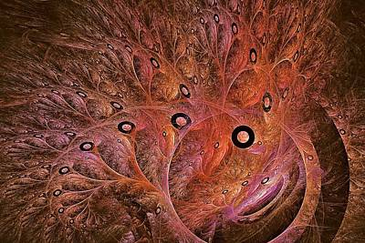 Digital Art - Reef Rings  by Doug Morgan