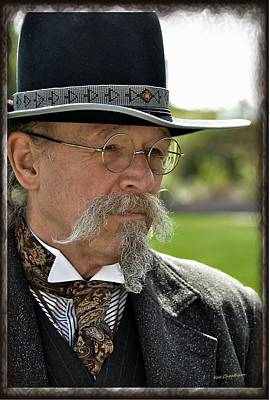 Fabric Mixed Media - Reenactor 1880s Style by Kae Cheatham