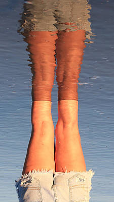 Photograph - Ref-leg-tion by Robert Bascelli