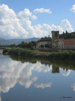 Photograph - Refections Over San Niccolo' Firenze by Kelly Borsheim