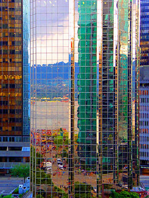 Photograph - Reflected 10 by Laurie Tsemak