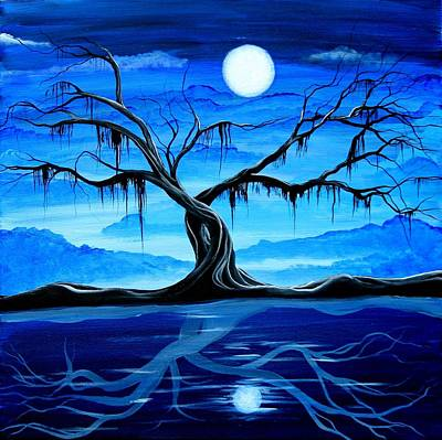 Painting - Reflected Dream by Angieclementine AKA Angie Phillips