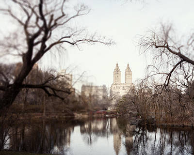 Nyc Skyline Photograph - Reflected by Lisa Russo