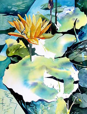 Reflected Magic Art Print by Rae Andrews