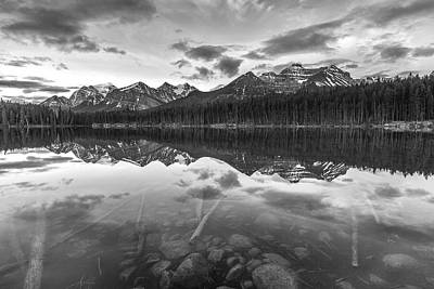 Acrylic Photograph - Reflected Mountain by Jon Glaser