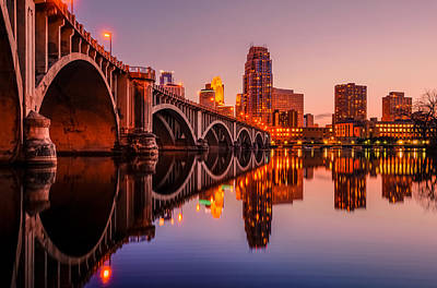 Reflecting Beauty Minneapolis Mn Art Print by RC Pics