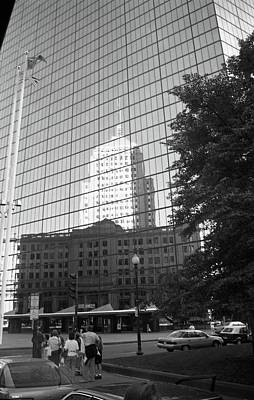 Photograph - Reflecting Boston by John Schneider