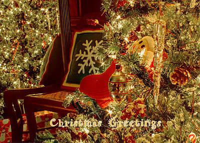 Photograph - Reflecting Christmas 2013 by Deb Buchanan