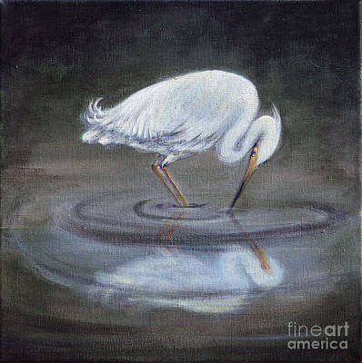 Painting - Reflecting by Deborah Smith