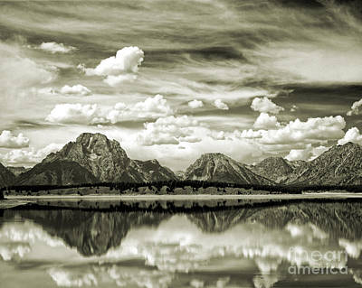 Photograph - Reflecting Grandeur by Edmund Nagele