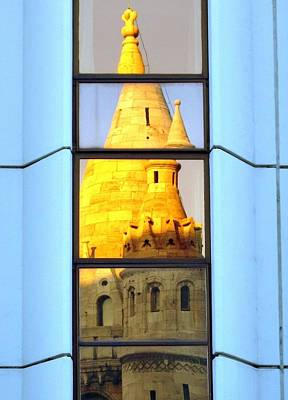 Photograph - Reflecting On Budapest by Ramona Johnston