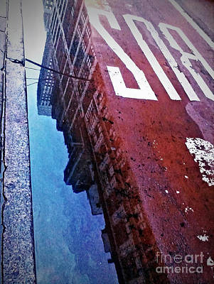 Art Print featuring the photograph Reflecting On City Life by James Aiken