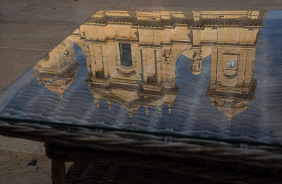 Reflecting On Noto And The Beautiful Sicilian Baroque Style Art Print