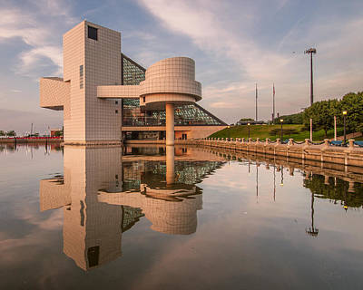 Photograph - Reflecting On The Rock Hall by At Lands End Photography