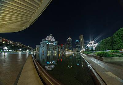 Photograph - Reflecting Pool 2 by Bryan Xavier