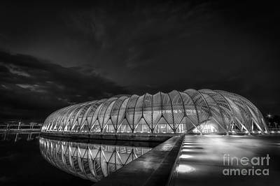 Reflecting The Future-bw Art Print