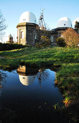 Photograph - Reflecting The Observatory by Spikey Mouse Photography