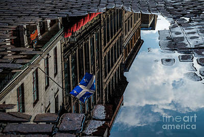 Reflecting Upon Quebec Art Print