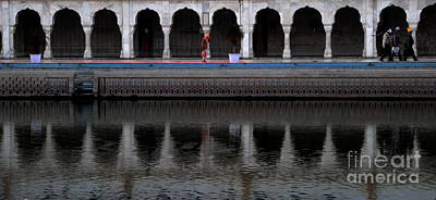 Photograph - Reflection At Sikh House Of Worship by Jacqueline M Lewis