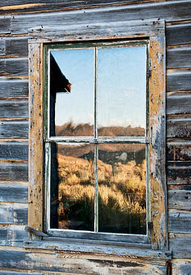 Bodie Photograph - Reflection by Cat Connor