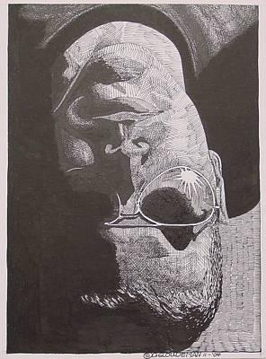 Reflection Art Print by Denis Gloudeman