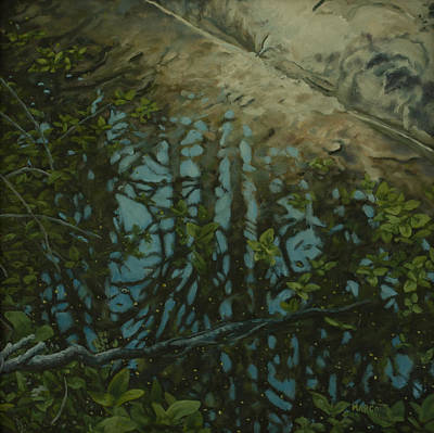 Reflection II Art Print by Michael Marcotte