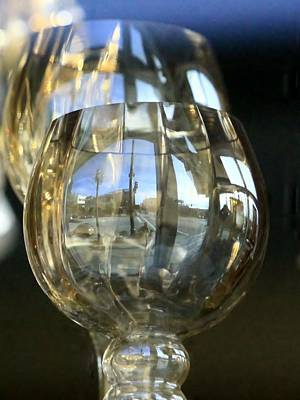 Photograph - Reflection In The Glasss by Donald Torgerson