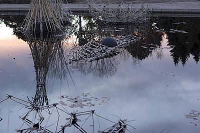 Kizuna Photograph - Reflection by John VonTempske