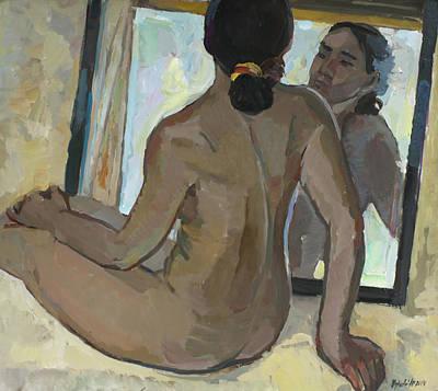 Painting - Reflection by Juliya Zhukova