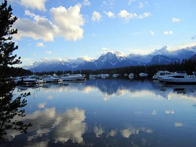 Grand Tetons Photograph - Reflection Lake 2 by Mike Podhorzer