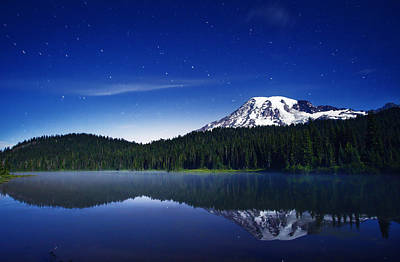 Royalty-Free and Rights-Managed Images - Reflection Lake Stars by Darren White
