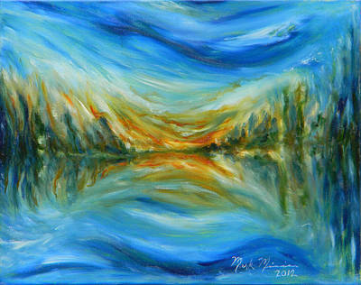 Painting - Reflection by Mark Minier