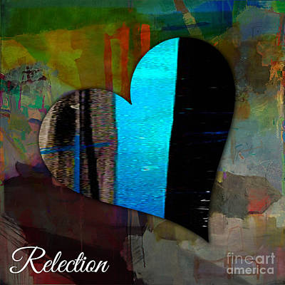 Mixed Media - Reflection by Marvin Blaine