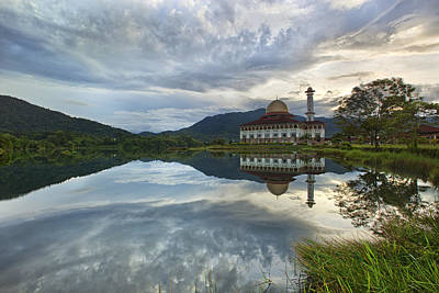Islam Photograph - Reflection by Mohd Rizal Omar Baki