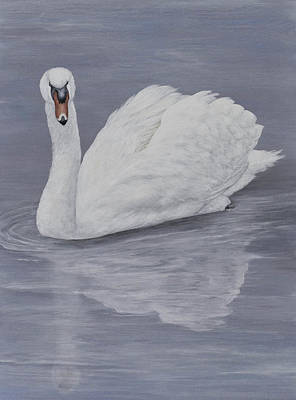 Painting - Reflection by Nancy Lauby