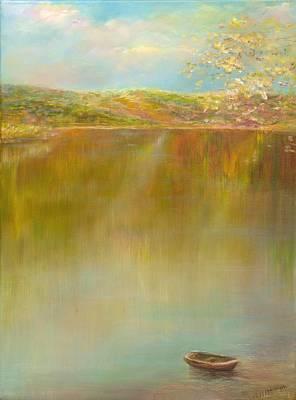 Tbilisi Painting - Reflection by Natalia Elerdashvili