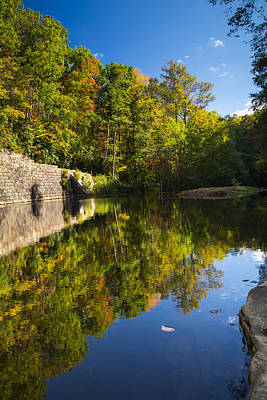Virginia Photograph - Reflections Of Autumn by Shane Holsclaw