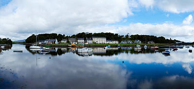 County Mayo Photograph - Reflection Of Clouds In Water, Newport by Panoramic Images