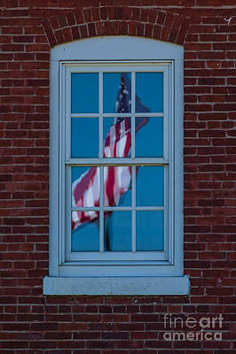 Art Print featuring the photograph Reflection Of Freedom by Patrick Shupert